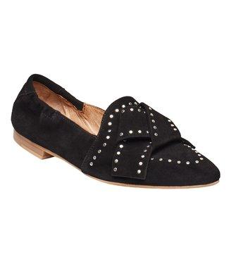 Pavement Pavement Mattie Black Suede Loafers