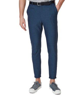 Les Deux Les Deux Como Light Herringbone Suit Pants Dark Navy