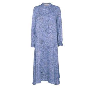 Norr Norr Lennon Dress Blue Print