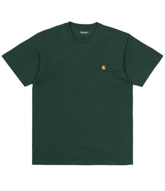 Carhartt Carhartt S/S Chase T-shirt Combed Treehouse/Gold