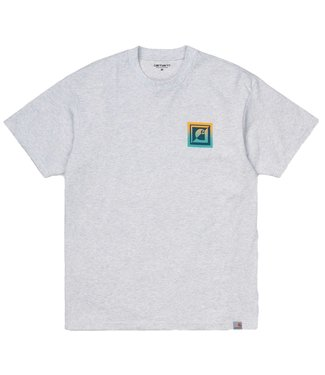 Carhartt Carhartt S/S Record Club T-shirt Ash Heather