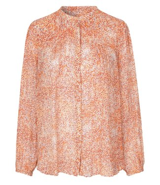 Second Female Second Female Floral LS Shirt Apricot Brandy