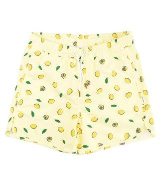 Dedicated Dedicated Swim Shorts Sandhamn Lemons Yellow