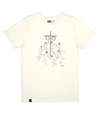 Dedicated Dedicated T-shirt Stockholm Midsummer Off White