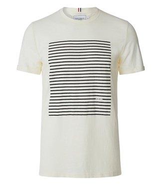 Les Deux Les Deux Antibes T-shirt Off White/Navy