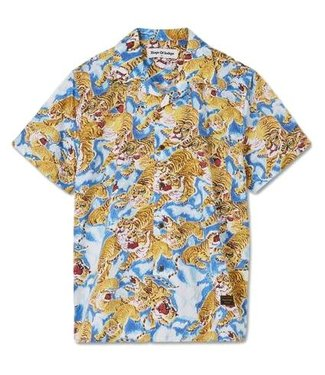 Kings of Indigo Kings Of Indigo Balder Tiger Aloha Shirt S/S