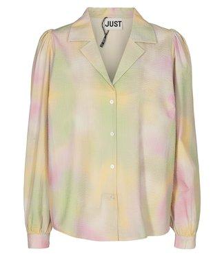 Just Female Just Female Nikki Shirt Pastel Tie Dye