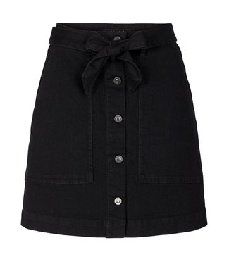 Ivy Ivy Copenhagen Freja Worker Skirt Wash Soft Black