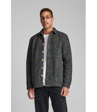Anerkjendt Anerkjendt Akotto Boiled Wool Overshirt 9520959-0526M