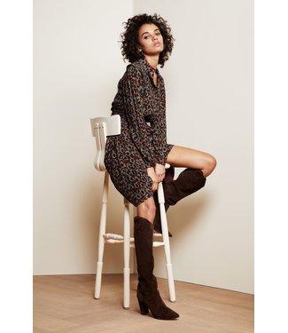 Fabienne Chapot Fabienne Chapot Country Dress Rust/Bordeaux Spotty Dotties
