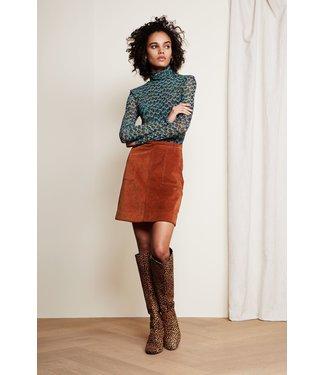 Fabienne Chapot Fabienne Chapot Victoria Solid Skirt Cognac