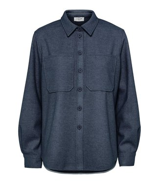 Norr Norr Helia Shirt Navy