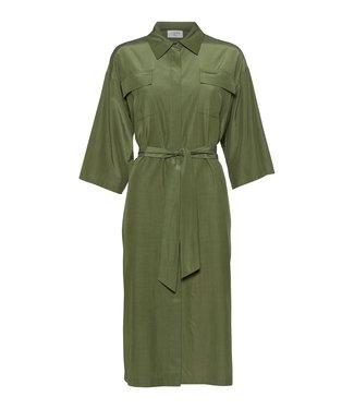 Norr Norr Adelle Shirt Dress Light Green