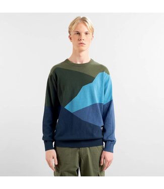 Dedicated Dedicated Sweater Mora Cut Mountain Blue
