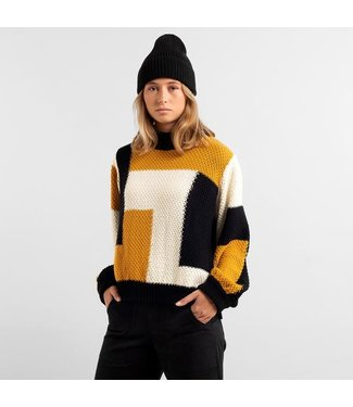 Dedicated Dedicated Sweater Rutbo Blocks Multi Color