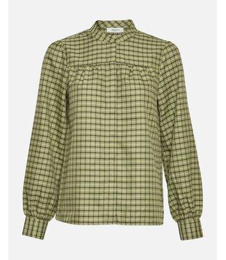 Moss Copenhagen Moss Copenhagen Camillie LS Shirt Sage Green