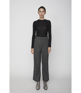 Just Female Just Female Marny Trousers Grey Check