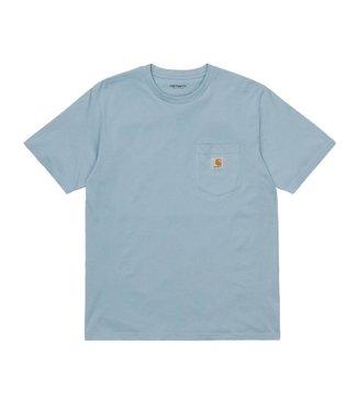 Carhartt Carhartt S/S Pocket T-shirt Frosted Blue