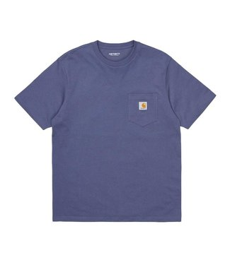 Carhartt Carhartt S/S Pocket T-shirt Cold Viola