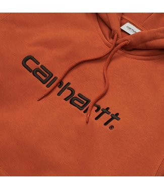 Carhartt Carhartt Hooded Carhartt Sweat Cinnamon / Black