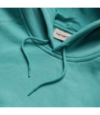 Carhartt Carhartt Hooded Chase Sweat Frosted Turquoise