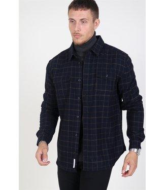 Les Deux Les Deux Dines Shirt Jacket Dark Navy