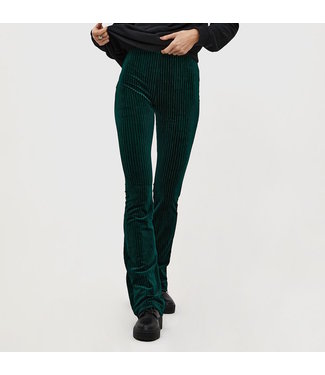 Roots Fashion Roots Fashion Flair Rib Dark Green