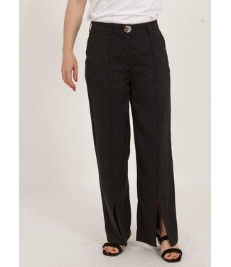 Coster Copenhagen Coster Copenhagen Pants Cutline And Slits Black