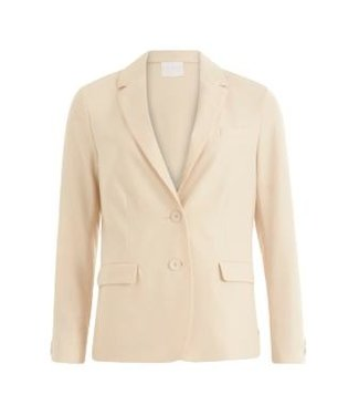 Coster Copenhagen Coster Copenhagen Suit Jacket W. Button Details At Cuffs In Creme 201-8102