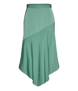 Coster Copenhagen Coster Copenhagen Asymmetric Skirt Jade Green