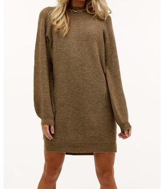 Roots Fashion Roots Fashion Knit Dress Brown