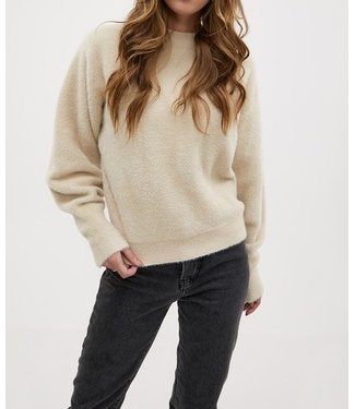 Roots Fashion Roots Fashion Fluffy Sweater Beige