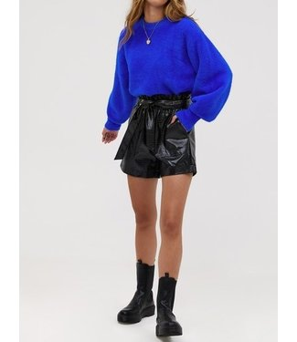Roots Fashion Roots Fashion Fluffy Sweater Blue
