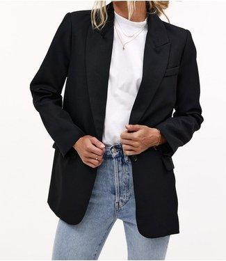 Roots Fashion Roots Fashion Oversized Blazer Black