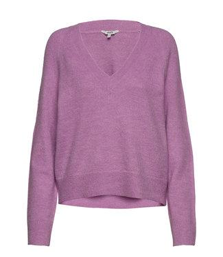 MbyM Mbym Ice Perlee Knit Violet Tulle Melange
