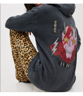 Roots Fashion Roots Fashion Sweater Skull Grey