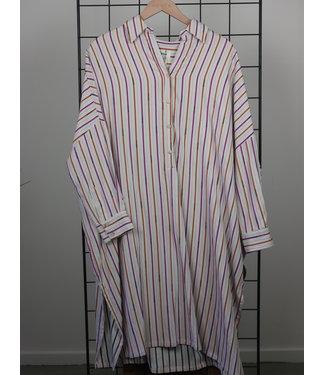 Ottod'ame Ottod'ame PSN-DA4008 Abito Dress Striped