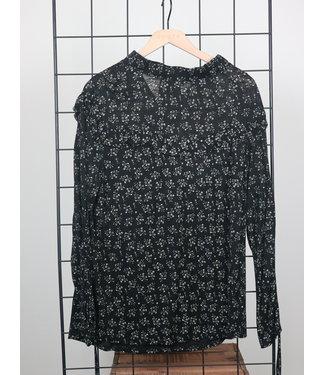 Teoh & Lea Teoh & Lea 24300 Ruffle Yoke T-Shirt Sleeves