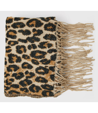 Roots Fashion Roots Fashion Scarf Leopard Print