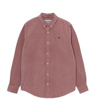 Carhartt Carhartt L/S Madison Fine Cord Shirt Malaga / Corse