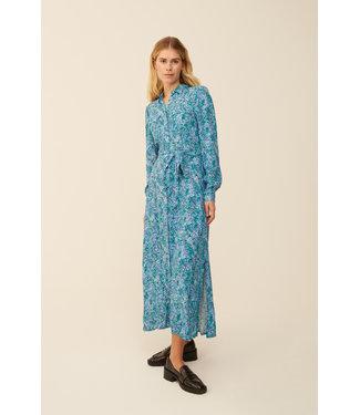 MbyM MbyM Claudina Blue Print Beata Dress