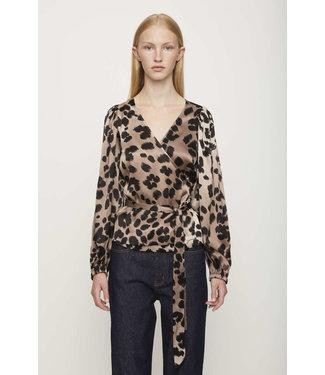 Just Female Just Female Laguna Blouse Leopard