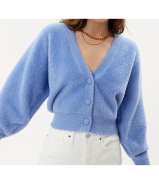 Roots Fashion Roots Fashion Fluffy Vest Light Blue