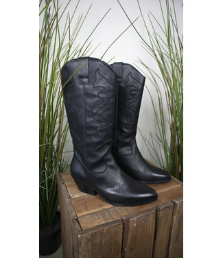 Tango Tango Shoes Nina Oblique Black Leather