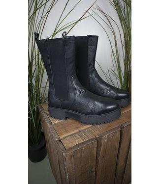 Tango Tango Shoes Bee Chunky Black Leather
