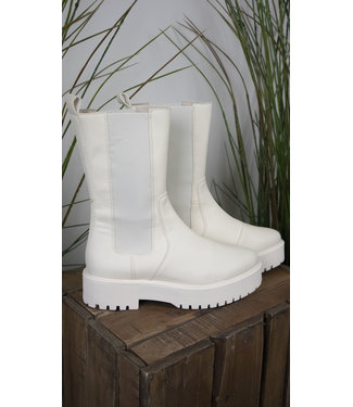 Tango Tango Shoes Bee Chunky Bone White Leather