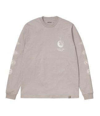 Carhartt Carhartt L/S Landscape T-Shirt 100% Organic Cotton Glaze