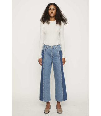 Just Female Just Female Calm Jeans Middle Blue Mix