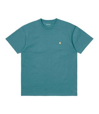 Carhartt Carhartt S/S Chase T-shirt Hydro / Gold