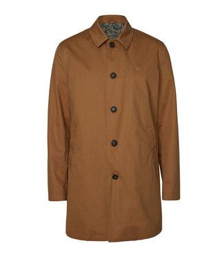 Les Deux Les Deux  Marley Cotton Coat Brown